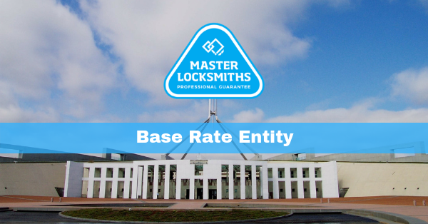 Taxes in Australia Base Rate Entity Company Taxes reduced