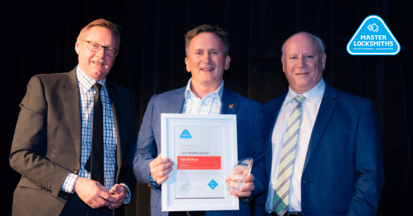 MLAA Conference & Trade Expo 2018 Gala Dinner Life Member David Rees