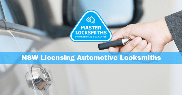 New South Wales Fairtrading Automotive Locksmiths