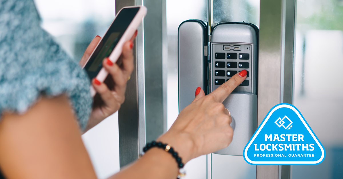 Electronic locks are a great option for AirBNB hosts.